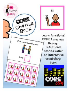 HI: Interactive CORE City Chatter Book