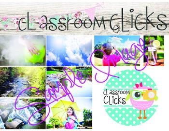 Water Cycle BUNDLE: Hi Res Images for Bloggers & Teacherpreneurs