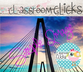 Charleston Sunset Bridge Image_99: Hi Res Images for Bloggers & Teacherpreneurs