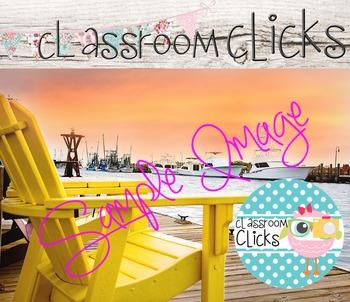 Charleston Ocean Sunset Image_100: Hi Res Images for Bloggers & Teacherpreneurs