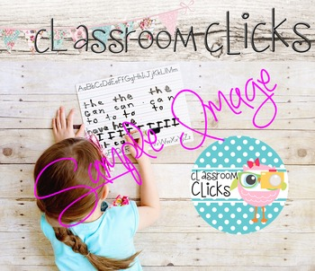 Child Writes Sight Words Image_41: Hi Res Images for Bloggers & Teacherpreneurs