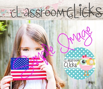 Child with USA Flag Image_34: Hi Res Images for Bloggers & Teacherpreneurs