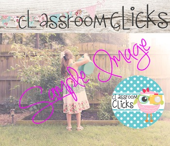 Girl in Garden Image_56: Hi Res Images for Bloggers & Teac
