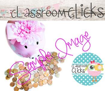 Money Coins Piggy Bank Image_95: Hi Res Images for Bloggers & Teacherpreneurs