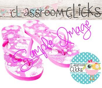 Pink Flip Flops Close-Up Image_74: Hi Res Images for Bloggers & Teacherpreneurs