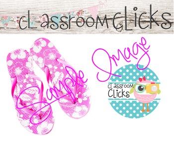 Pink Flip Flops Image_73: Hi Res Images for Bloggers & Tea