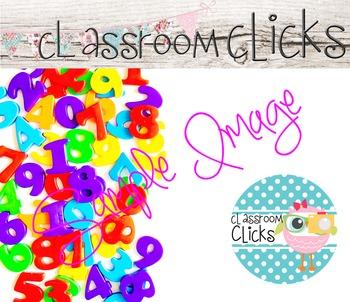 Bright Colors 123 Numbers Image_92: Hi Res Images for Bloggers & Teacherpreneurs
