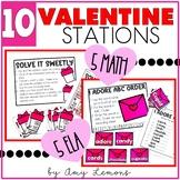 Hi, Valentine! {5 Math and 5 Literacy Centers}