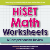 HiSET Math Worksheets