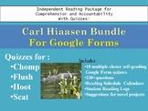 Hiaasen Bundle Chomp, Hoot, Flush, Scat Quizzes Google For