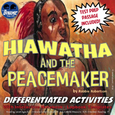 Hiawatha & The Peacemaker Interactive Notebook Reading Activities with Test Prep