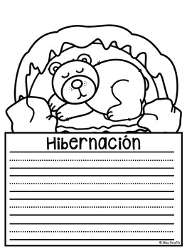 Hibernación NO PREP Writing Craft