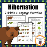 Hibernating Animals - 21 activities for math and language