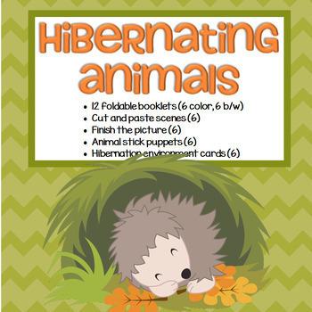 Hibernating Animals Activities for Preschool and Pre-K