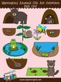 Hibernating Animals Clip Art Collection (Part 1)