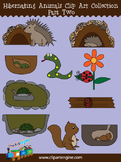 Hibernating Animals Clip Art Collection (Part 2)