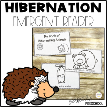 Hibernating Animals Emergent Reader