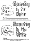 Hibernating Animals Emergent Reader for Kindergarten- Winter Hibernation