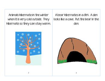 Hibernating Animals-Interactive/Adaptive Book