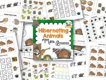 Hibernating Animals Math Activities