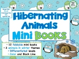 Hibernating Animals Mini Books - ESL/ENL, Special Needs, Young Learners