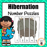 Hibernating Animals Number Puzzles For Skip and Rote Counting