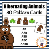 Patterns: Hibernating Animals Pattern Cards - option 1