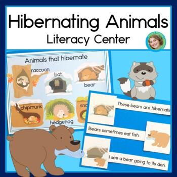 Hibernating Animals Sentence Picture Match Reading Center
