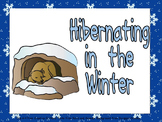 Hibernating Animals Shared Reading for Kindergarten- Winter Hibernation