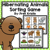 Hibernating Animals Sorting Game