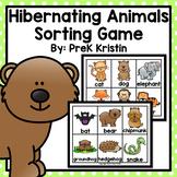 Hibernating Animals Sorting Game