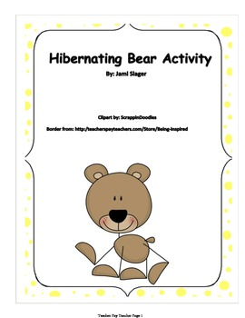 Hibernating Bear