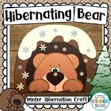 Hibernating Bear Craft & Writing Activities: Winter Craft: January