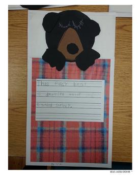 Hibernating Bear Craft and Writing Activity