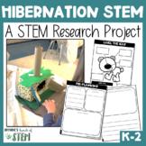 Hibernating Research & STEM Project | {Digital & Printable}