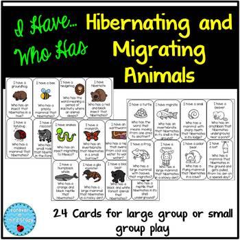 Hibernating and Migrating Animals Game