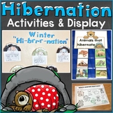 Hibernation Activities, Writing Prompts, Hibernating Bear