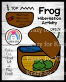Hibernation Activity with Frog Craft for Science Center