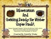 Hibernation & Animals In Winter Super Pack! Poems, Books,