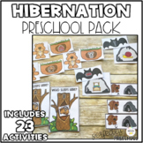 Hibernation  Preschool Bundle