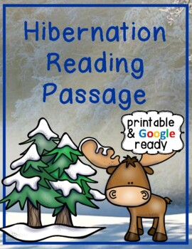 Hibernation Close Reading Passage