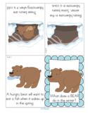 Bear Hibernation Foldable Booklet FREE