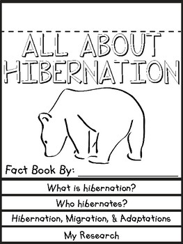 Hibernation Flip Book