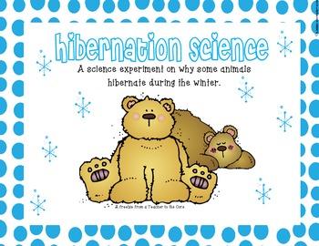 Hibernation {Hands-On Science Experiment}
