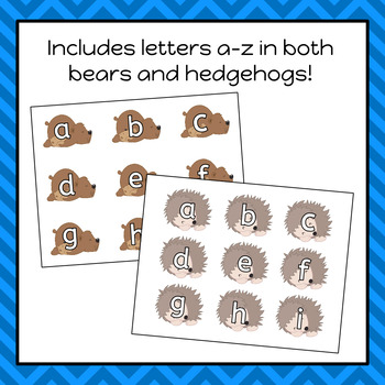 Hibernation Letter Matching