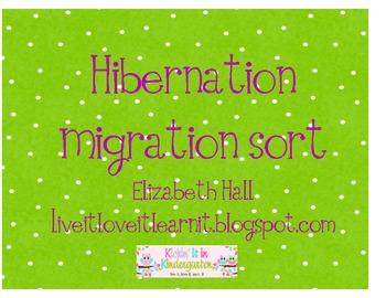 Hibernation Migration Sort