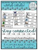 Hibernation, Migration, and Adaptation Word Cards