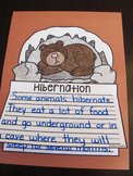 Hibernation Writing Craft Activity
