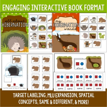 Hibernation Preschool Language Unit