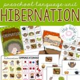 Hibernation Preschool Language Unit